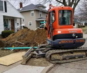 Professional Excavation Prestige Plumbing