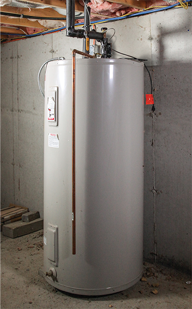 Traditional Water Heater Prestige Plumbing