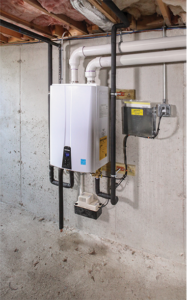 Tankless water heaters canton after